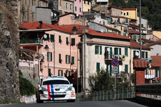 San Remo: Giandemenico Basso wins a dramatic Sanremo Rally, clinching victory on the final stage through Colle d'Oggia.