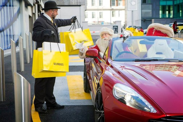 Rather than wait for the postman – or, indeed, Santa – Selfridges customers can now pick up their online purchases themselves. The world's first 'Fashion and Retail Drive Through' has just opened, at the back of the Oxford Street store. You don't even need to get out of the car.