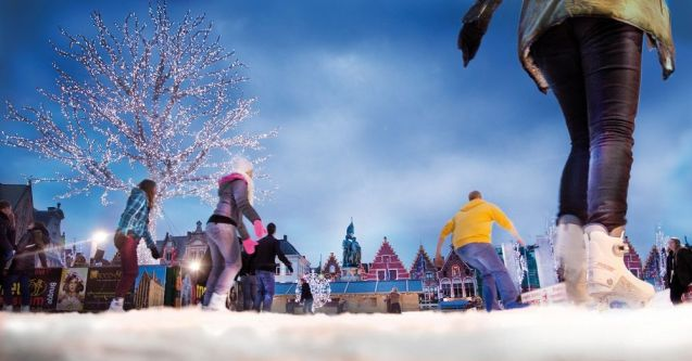 Christmas in Bruges.