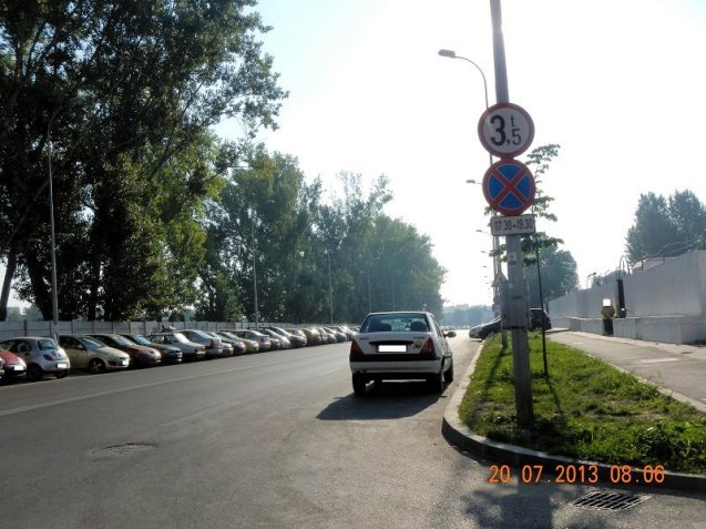 Parking discipline: