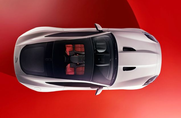 Jaguar F-TYPE Coupe. To be revealed on 19 November, on the eve of the Los Angeles auto show. On sale in the Spring.