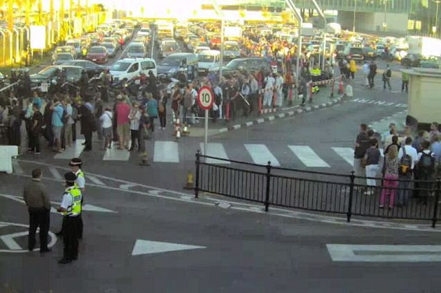 Gibraltar: 'Border controls are here to stay!' shouted the local press yesterday