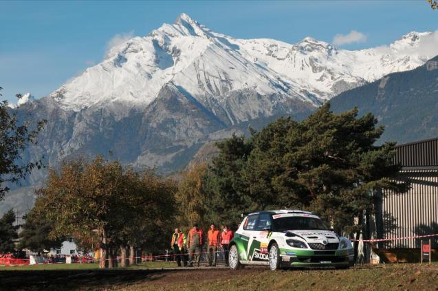 ERC Valais: rising Finnish rally star Esapekka Lappi won his maiden European Rally Championship round yesterday on the Rallye du Valais in south west Switzerland yesterday.