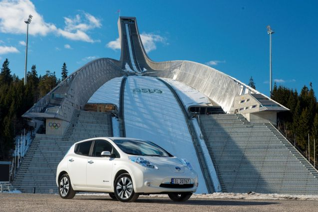 The NissanLeaf has taken over from the Tesla Model S as Norway's best selling car. The second month in a row that an EV topped the sales charts, for the first time ever. The Leaf sold 716 units compared to 679 Toyota Auris and 646 VW Golfs.
