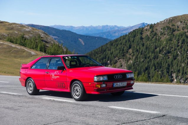 The Alpen Tour was designed to demonstrate Audi's superfast RS range. Cars included the RS Q3, RS 5 Cabriolet, RS 6 Avant and RS 7 Sportback. But there was room