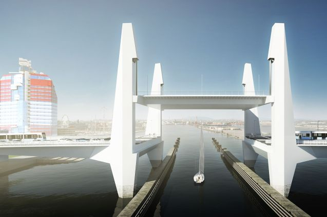 Arpeggio: Oresund Link architects Dissing+Weitling beat off stiff international competition to design the new bridge in central Gothenburg