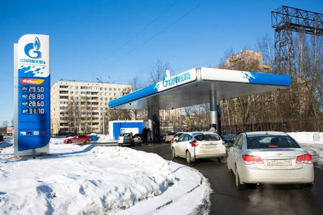 Russia: cheapest petrol and diesel in Europe.