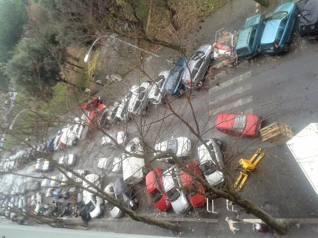 Rome:  the famously haphazard parking in the italina capital is set to become a thing of the past