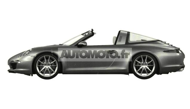 The upcoming Porsche 911 Targa takes trck roofs to new heights.