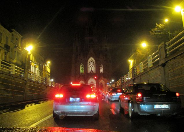 Driving in Brussels. Enjoy it while you can. Pic @DriveEurope.