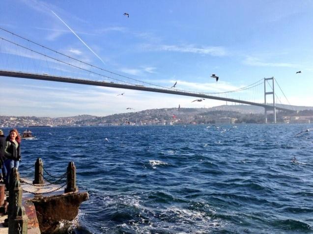 Istanbul this morning. Photo via @LeighTurnerFCO