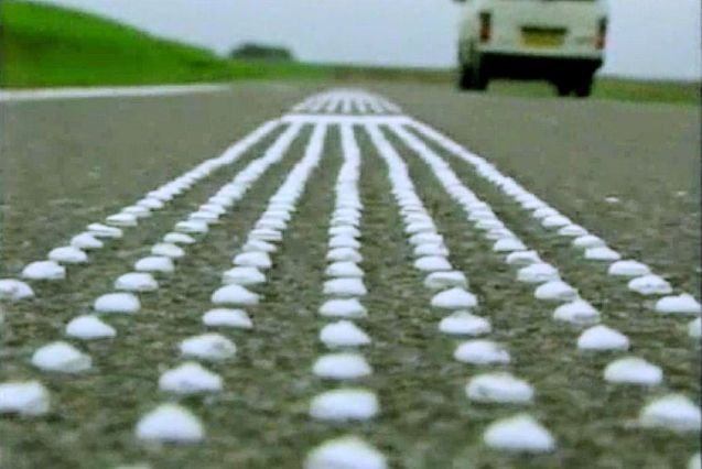 Asphaltophone: the Danes have got one, now the Russians want one too. To bid up the 'fun factor' of driving in Siberia, the state road building company in Krasnoyarsk wants to install musical roads, according to RIA Novosti - that is, bumps on the road surface which set off 'tactile vibrations' in the shape of a well known tune. The first was installed in 2005 in Gylling in East Jutland, Denmark, above. That plays The William Tell Overture. There is a slightly serious side to this: the bumps only make the song for cars driving under the speed limit.