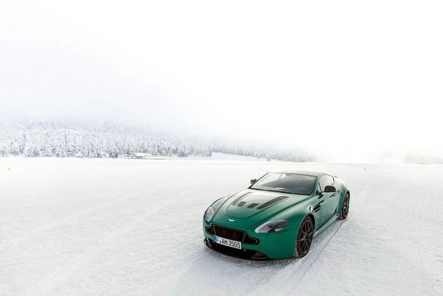 Aston on Ice: