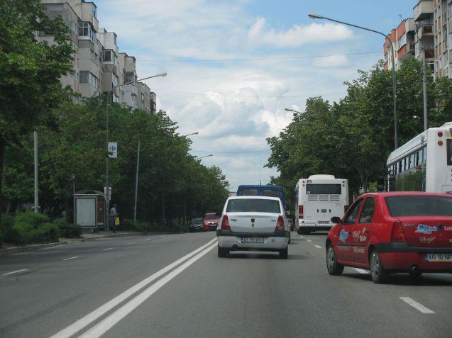 Dacias in Pitesti, central Romania. The factory is actually at Mioveni, ten miles north. Photo @DriveEurope.