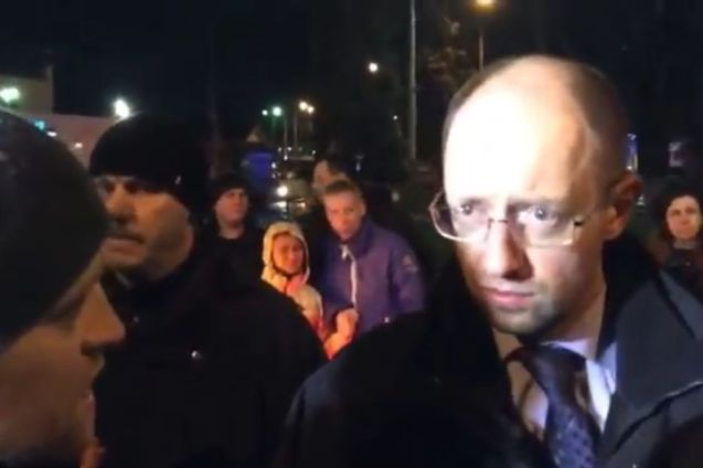 On the way into Kiev, Tymoshenko's car was stopped by Maidan activists angry that the blacked out convoy had attempted to bypass regular traffic. Sitting alongside Tymoshenko was Arseniy Yatsenyuk, a long-time ally, office holder in a previous administration and one of the negotiators with the government during the crisis. He is also tipped for high, possibly the highest, office in the next government. But Yatsenyuk was forced to adopt his most earnest expression and express fulsome apologies to talk his way out of this one.
