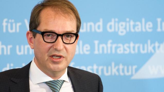 Alexander Dobrindt, German Federal Minister for Transport.