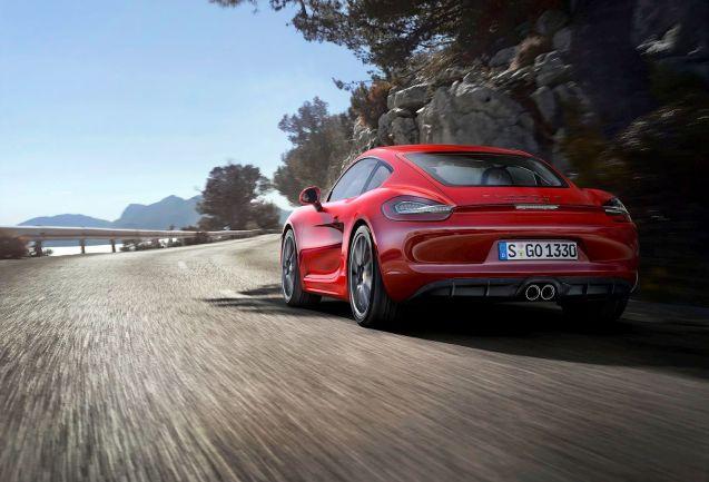 Porsche Cayman GTS: 0-62mph in 4.8secs, 340hp, top speed 177mph, 211 g/km CO2, £55,397.