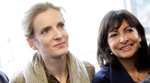 Nathalie Kosciusko-Morizet, left, and Mayoral rival Anne Hidalgo apparently share a distaste for diesel.