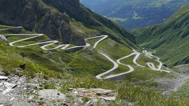 The Gotthard Pass.