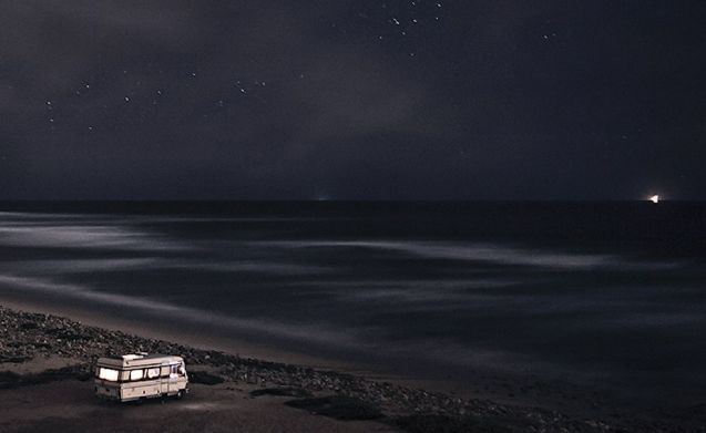 Cascais: 'Portugal is one of the few places in Europe where you can still stay on the beach overnight,' says Italian photographer Alessandro Puccinelli in the latest Mercedes-Benz web special 'Ocean Calling: 48 Hours in Lisbon'.