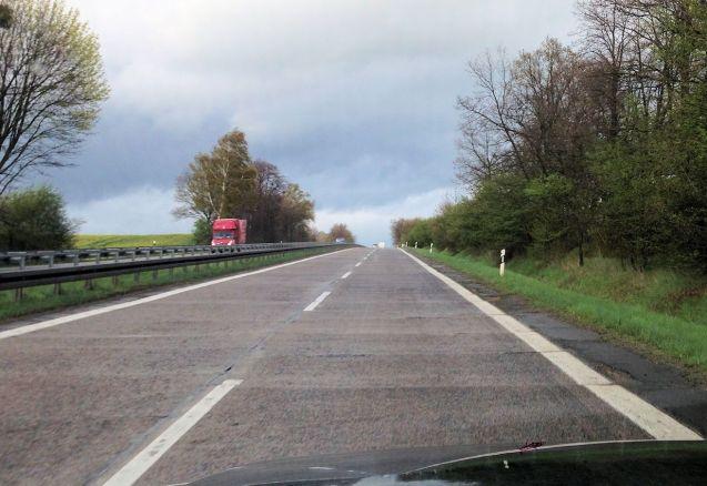 The A11 Berlin-Szczecin northbound between J5-4. Photo @DriveEurope