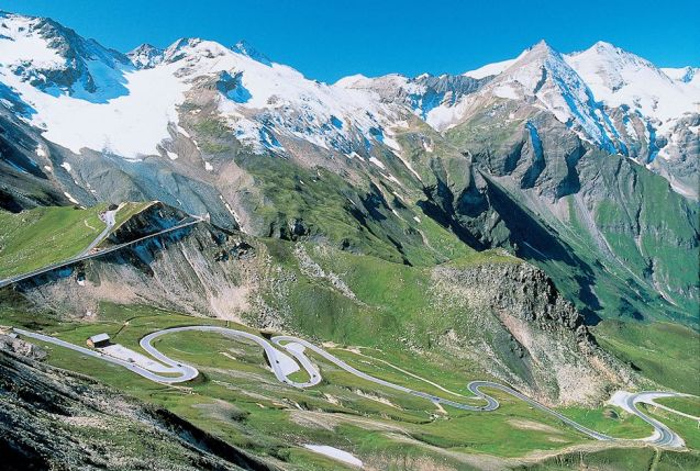 Austria's Grossglockner High Alpine Road re-opens today, the first of many mountain passes over the next few days. More later.