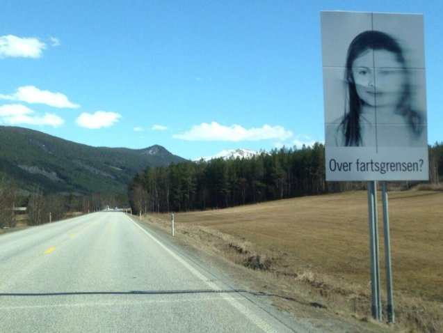 From Norway: 'Over fartsgrensen?' -