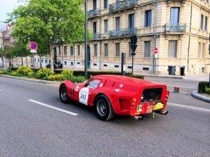 Tour Auto: the Ferrari 250 GT SWB Breadvan – aka 250 GTO Drogo – departs from Valence this morning on the final leg of the 2014 Tour Auto Optic 2000 rally. The – really amazing – six day, 2,500km event finishes this evening in Marseilles. Catch up with all the action at @Tour_Auto, and/or see Tuesday's @DriveEurope for an overview.