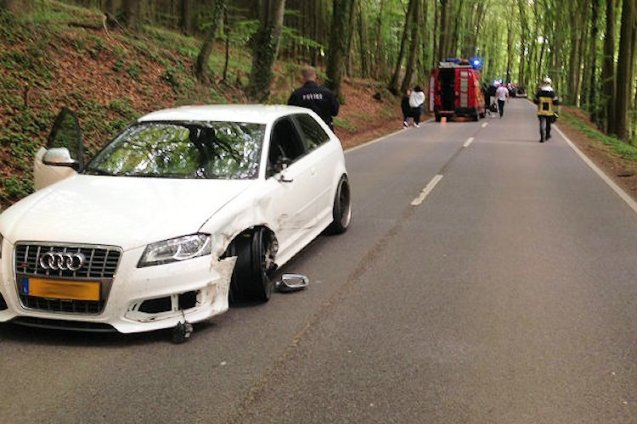 Turns out – too late - it wasn't your fault after all. According to local press reports, this white Audi was the culprit, ramming the poor Porsche after losing control on the gentle right hander. Anyway, the upshot is how this unfortunate incident helps concentrate the mind on northern Luxembourg. At four hours from the Channel Ports via the Ardennes forest – shared with Belgium – bisected by the winding Sure River, rising to 2,000 feet and with some obviously interesting roads, it's close enough for a weekend away. Intriguing: