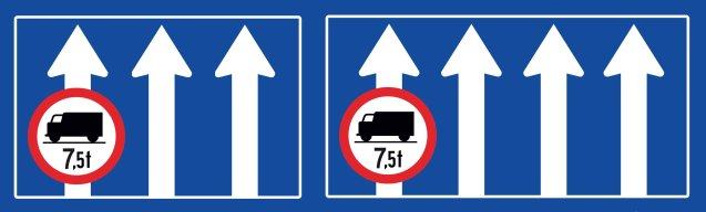 AUSTRIA: from Sunday 1 June, trucks 7.5t+ will no longer be allowed in the left-most lane(s) of three and four lane highways on safety grounds. However, the vast majority of motorways in Austria are dual carriageway – three laners account for 700km and four lanes for just 40km out of 2178km in total. Also, national roads operator ASFINAG has clarified the weekend, public holiday and night-time driving ban times which apply to trucks 7.5t+, and other trucks with a trailer of MPW of 3.5t+. See below for link.
