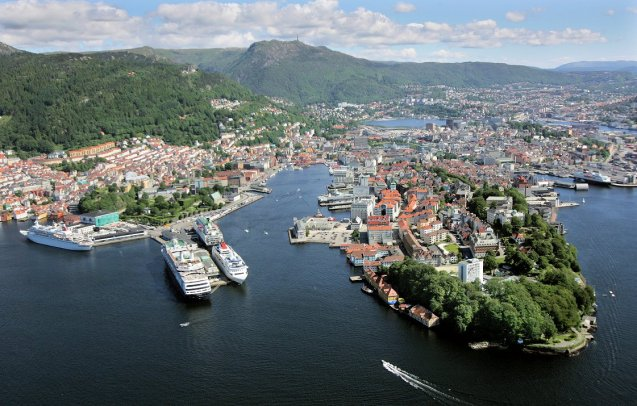 Bergen, Norway. Photo via www.VisitBergen.com