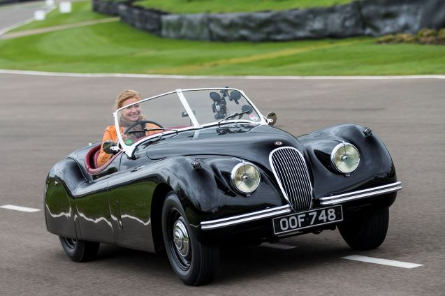 Jaguar has roped in a load of celebrities to run a range of its classic cars at this month's Mille Miglia, Brescia-Rome-Brescia rally. As well as former model Jodie Kidd, above, Martin Brundle, Jay Leno and Bruno Senna among others will drive D-TYPE