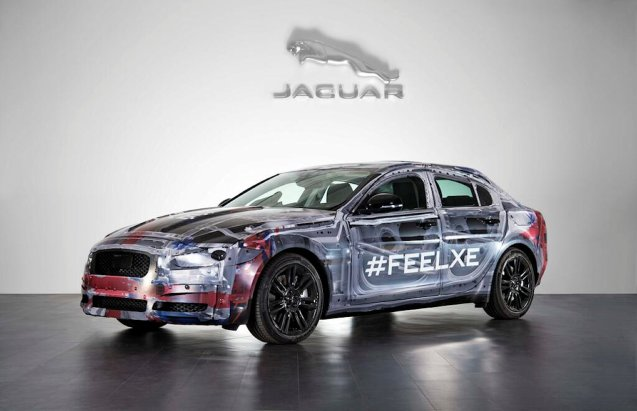 It must be Jaguar week. Anyway, ahead of its launch in paris in October, jaguar has revealed the latest image of its new XE compact sports saloon.