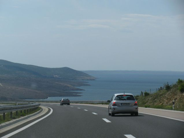 You can pick your way right down Croatia's Adriatic coast and with all the time in the world it would be a wonderful thing to do. Heading for Split though, our only option was to take to the A1. With the Dinaric Alps as the backdrop in the north, smooth tarmac and a speed limit of 130kmh it was no hardship. It was busier in the south but swooping down to the sea, as here into Zadar, more than compensated. The toll for (almost) its full 290 mile length from Zagreb was £19 (€23). Keep up to date with current traffic conditions, border queues, etc, at hak.hr.