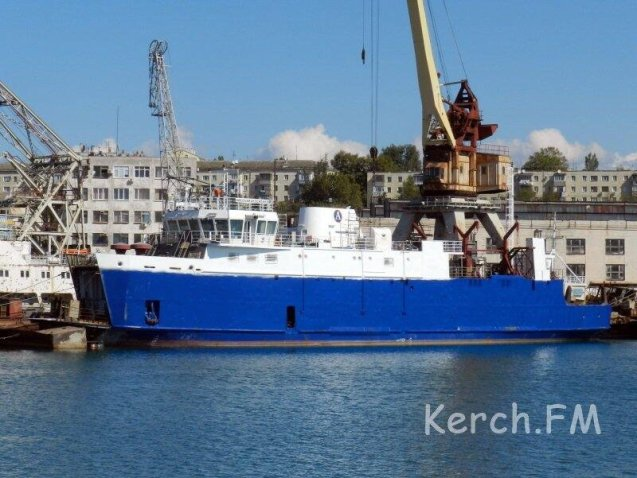 The Kerch ferry, due to replaced by a fixed link, and soon.