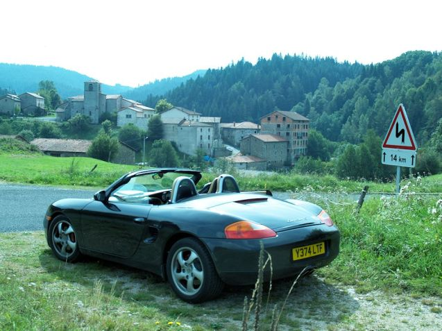 If your idea of the perfect road trip involves an open top sports car and the twisty roads of rural France look no further than Auvergne. It lacks jagged Alps peaks – the drops are hundreds rather than thousands of feet - but the 360 degree views from the high hills and plateaux are truly epic. It's quiet too, sparsely populated with small, unspoilt towns and villages. You can't go wrong. Where's this picture taken? Can't remember, sorry, but it's very close to the Mont Mouchet Maquis memorial, ten miles south of Brioude, five east of Saint Flour.