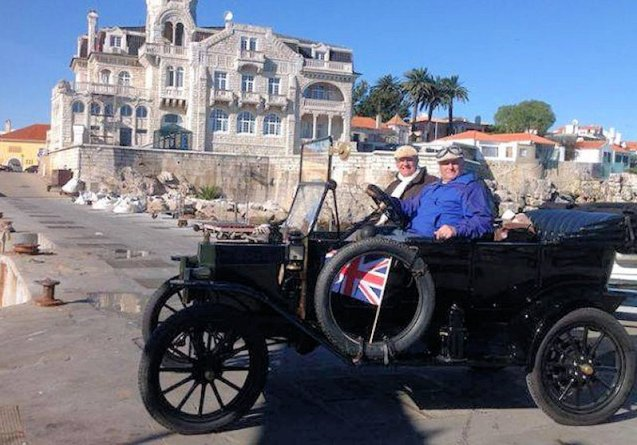 Lisbon-Lincoln: three men will drive this almost entirely original Ford Model T - just the brakes have been modified - on an historic route from Lisbon to Lincoln, for charity, starting next week. More later.