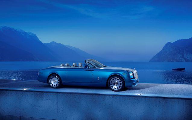 Maggiore Blue: Rolls-Royce debuts