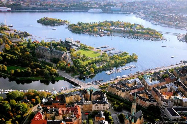 Stockholm: 57 bridges connect the 14 islands on which the city is built. Photo via @VisitStockholm
