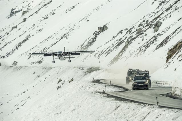 Surprisingly, most mountain roads stay open throughout winter, including there very highest of them all: Otztal in Austria - 2830m, 9285ft - where scenes from james Bon's Spectre were filmed earlier this year.