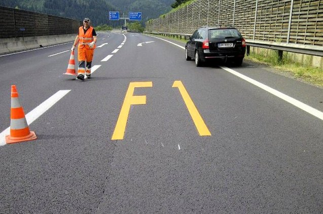 Preparing for the Austrian Grand Prix, though not quite well enough it seems.