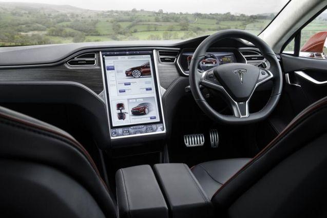 RHD Tesla Model S: