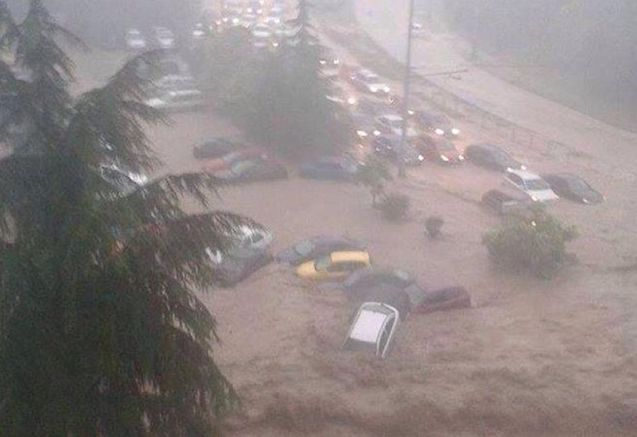 Varna: many parts of central, north east and south east Bulgaria are under state of emergency after flash flooding yesterday. At least ten people have been killed. No meteoalrms have been issued for Bulgaria today though coastal areas of neighbouring Romania are code amber alert for heavy rain. See novinite.com for the latest.