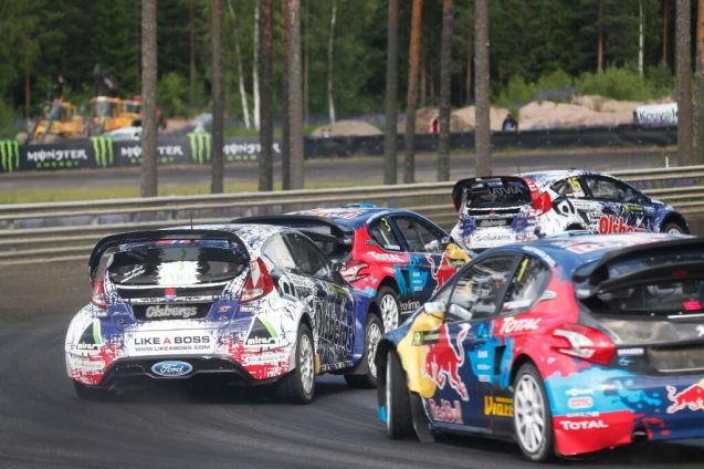 A new racing circuit in Belgium sees its first competitive event this weekend. The Jules Tacheny Circuit in Mettet, a few miles south east of Charleroi, hosts the third round of this year's FIA European Rallycross Championship. The 1030m track is one third gravel and the rest asphalt. Local former WRC driver Francois Duval makes a guest appearance alongside series regulars WRC champ Petter Solberg and F1 champ Jacques Villeneuve.