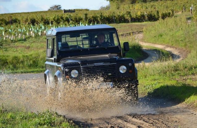 Vines in Action: off roading through the vineyards of the Loire @FrenchWiineTours. More later.