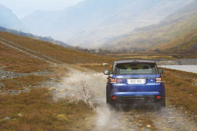 An SUV that's as useful on road as it is off? Yes we could do with that. The first official photos of the Range Rover Sport SVR are released today: 542bhp, £93,450, 8m14 around the Nurburgring.