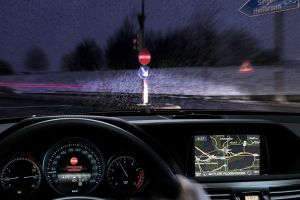 Mercedes' new wrong way driving system