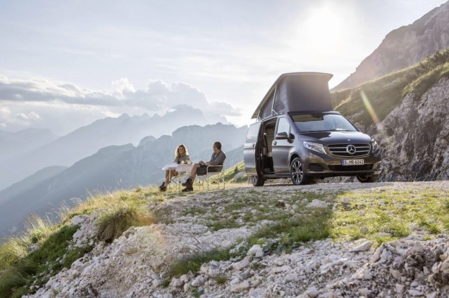 Good to know: the new Mercedes-Benz Marco Polo will be produced in right hand drive.