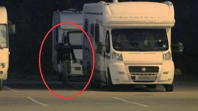 An edition of ITV's Tonight programme called Back Door Britain - screened 24.9 at 19:30 - filmed clandestines attempting to sneak aboard campervans parked near Calais.