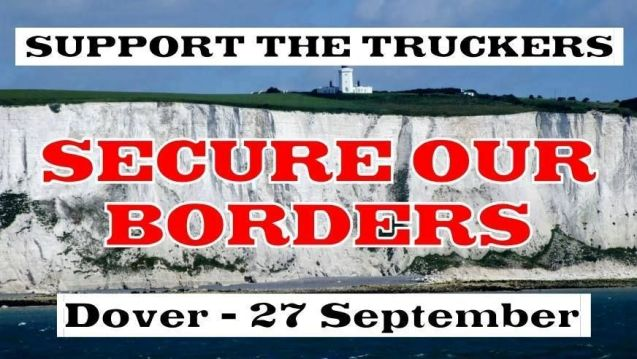 With some truckers reportedly taking out personal loans to pay fines for – inadvertently – carrying would-be illegal immigrants into the UK, a Facebook group called Support the Calais to Dover Truckers is organising blockade of Port of Dover on Saturday 27 September. Kent police told the BBC 'wilful obstruction of the highway' was illegal, the port said it was monitoring the situation while the Freight Transport Association refused to back the protest but expressed sympathy with drivers facing huge fines.